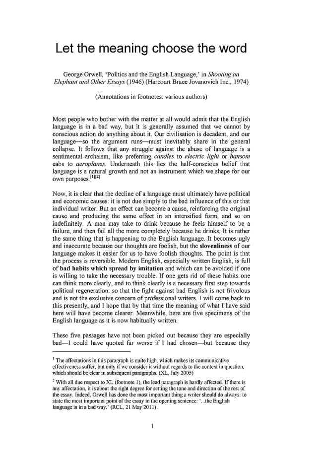 High School Essay Topics  Thesis Statement Analytical Essay also English Essay Book Politics And The English Language Essay Politics And The  Mahatma Gandhi Essay In English
