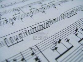 musical notation 123rf