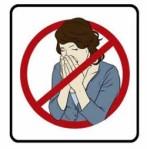 no sneezing